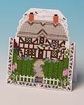 The Country Cottage greetings card