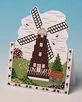 The Windmill greetings card