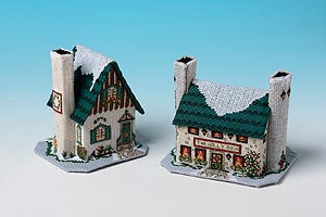 Pine Cone Cottage and the Holly Bush Inn