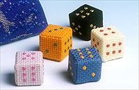 Paperweight Dice