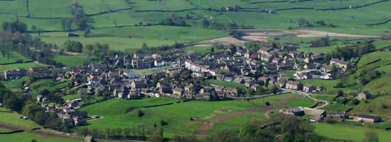 Photograph of Reeth from Fremington